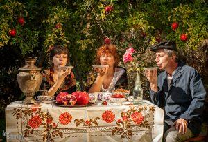 La Jolla tea party