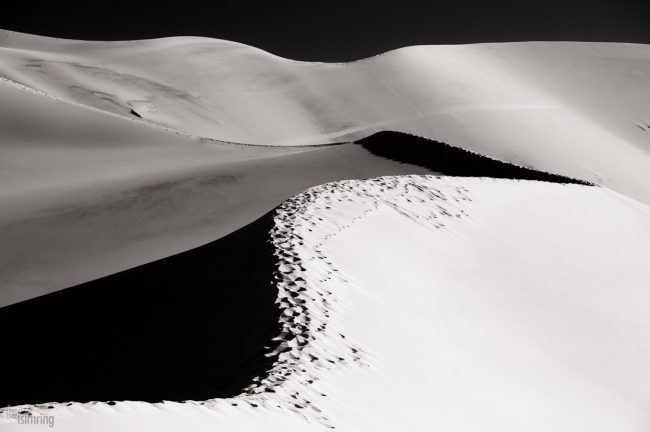 Eureka Valley Sand Dunes, Death valley, California (2013)