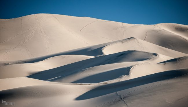 Eureka Valley Sand Dunes, Death valley, California (2013)