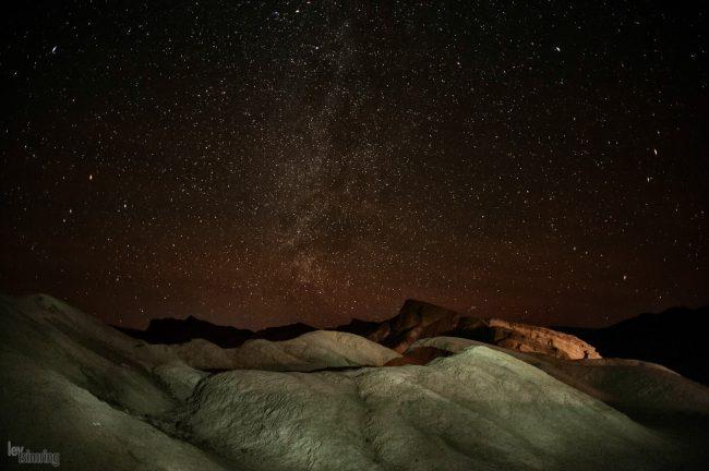 Zabriskie point <p> Death valley, California (2013)