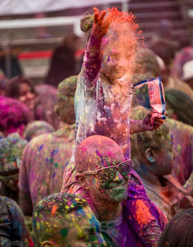 Holi festival, Oceanside, California (2017)