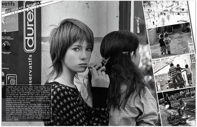 """""""DP Arte Fotografica"""" magazine (Portugal), March 2011 (p.1)"""