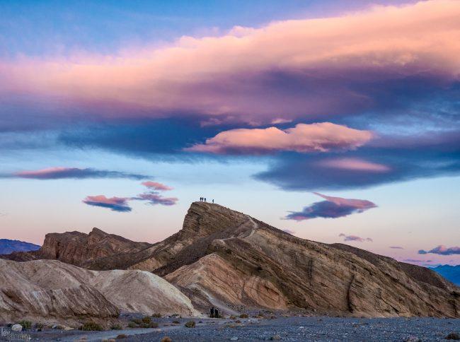 Zabriskie Point Death Valley, California (2018)