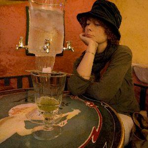 Absinthe drinker