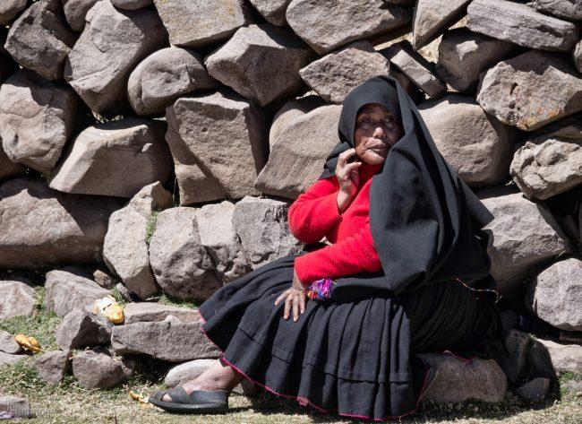 Taquile island <p> Titicaca lake, Peru (2013)