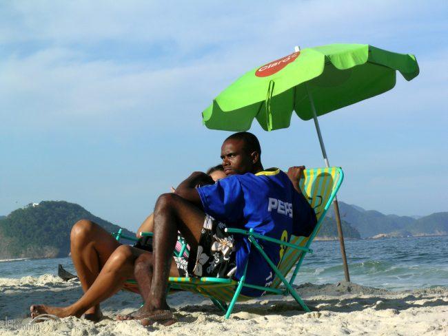 Capacabana Beach, Rio de Janeiro, Brazil (2004)