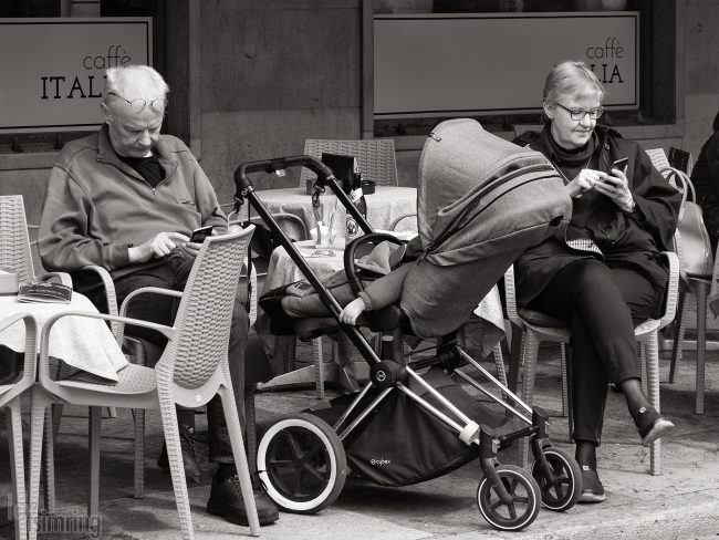 Millenial grandparents <p> Trento, Italy (2019)