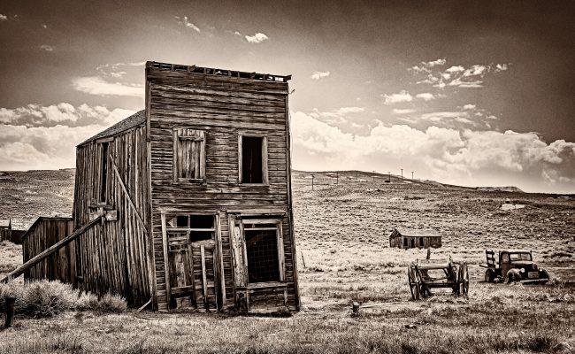 Bodie ghost town, California (2020)