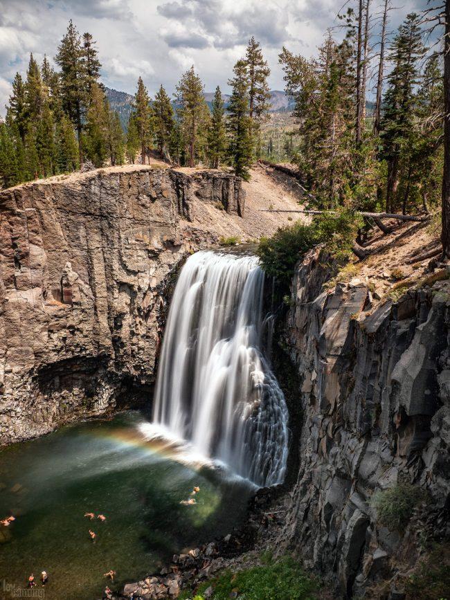 Rainbow Falls, Mammoth Lakes (2020)